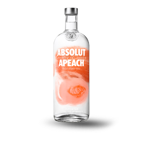 ABSOLUTE APEACH VODKA 750 ML (IMP)