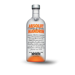 ABSOLUTE MANDARIN VODKA 750 ML (IMP)