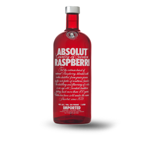 ABSOLUTE RASBERRY VODKA 750 ML (IMP)