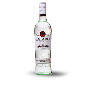 BACARDI WHITE RUM 750 ML